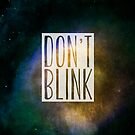 Doctor Who - Don't Blink by thebrink