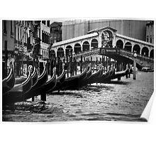 Beautiful Venezia- Rialto Poster