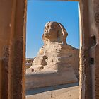 Sphinx, Cairo, Egypt 13 by Michael Brewer