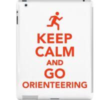 Keep calm and go Orienteering iPad Case/Skin