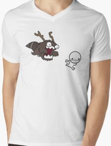Run! Mens V-Neck T-Shirt