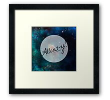 Doctor Who - Allons-y! Framed Print
