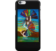 Rainbow goddess iPhone Case/Skin