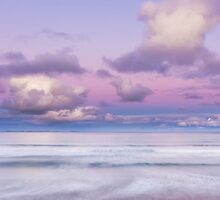Port Fairy Pastel Sunset - Square by hangingpixels