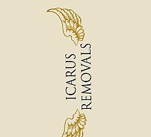 Icarus Removals - logo by paramounthats