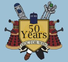 50 Anniversary of the Doctor Kids Clothes