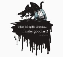 Make Good Art (Ink Dragon) by Jessica Feinberg