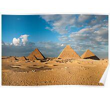 Pyramids of Giza 7 Poster