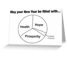 May your New Year be filled with... Greeting Card