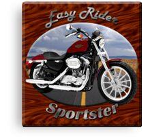 Harley Davidson Sportster Easy Rider Canvas Print