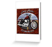 Harley Davidson Sportster Easy Rider Greeting Card