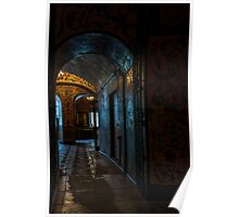 Inside St. Basils Cathedral, Moscow Poster