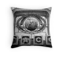 Moscow's TASS Building Throw Pillow