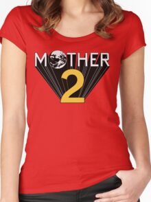Mother 2 Promo Women's Fitted Scoop T-Shirt