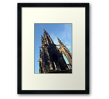 Scott Monument, Edinburgh Framed Print