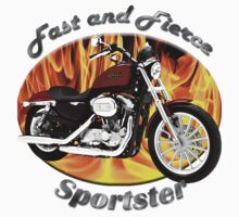 Harley Davidson Sportster Fast and Fierce by hotcarshirts