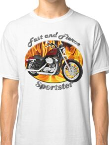 Harley Davidson Sportster Fast and Fierce Classic T-Shirt