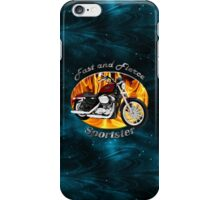 Harley Davidson Sportster Fast and Fierce iPhone Case/Skin