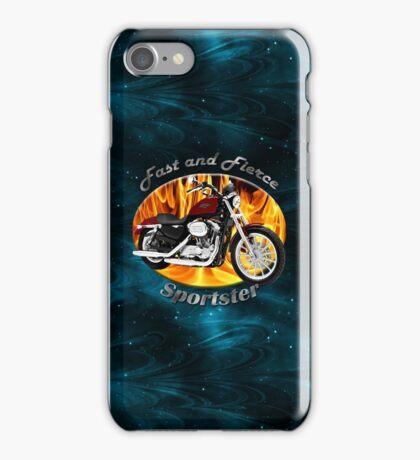 Harley Davidson Sportster Fast and Fierce iPhone Case/Skin