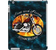 Harley Davidson Sportster Fast and Fierce iPad Case/Skin