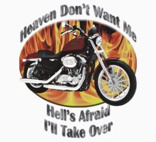 Harley Davidson Heaven Don't Want Me Kids Clothes