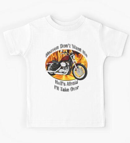 Harley Davidson Heaven Don't Want Me Kids Tee