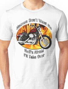 Harley Davidson Heaven Don't Want Me Unisex T-Shirt