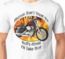 Harley Davidson Heaven Don't Want Me Unisex T-Shirt