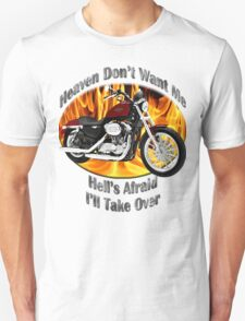 Harley Davidson Heaven Don't Want Me T-Shirt