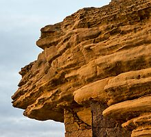 Burghead Cliff Face by JASPERIMAGE