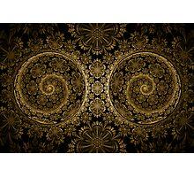 Hypnotic Brass Photographic Print