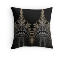 Towers of Steel Throw Pillow