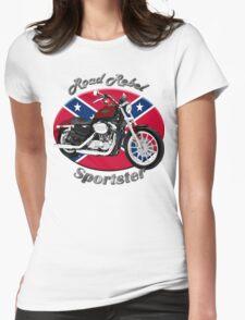 Harley Davidson Sportster Road Rebel Womens Fitted T-Shirt