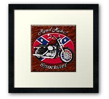 Harley Davidson Sportster Road Rebel Framed Print