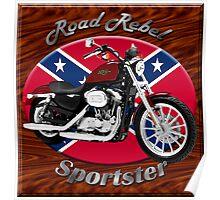 Harley Davidson Sportster Road Rebel Poster