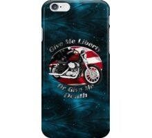Harley Davidson Sportster Give Me Liberty iPhone Case/Skin