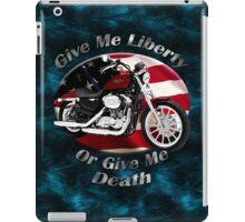Harley Davidson Sportster Give Me Liberty iPad Case/Skin