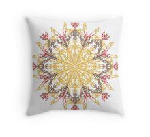 Mayan Sun II Throw Pillow