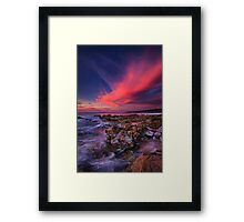 Yallingup Sunset Framed Print