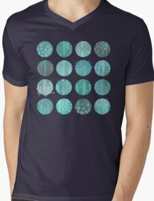 Celestial Bodies - Midnight Mens V-Neck T-Shirt