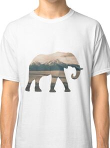 Elephant and Homer Spit Classic T-Shirt