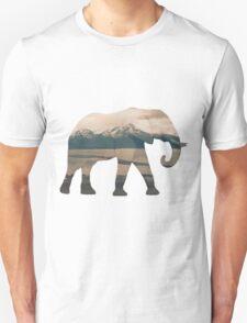 Elephant and Homer Spit Unisex T-Shirt