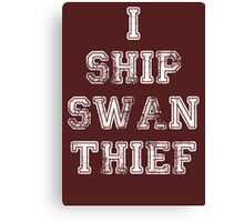 Once Upon a Time - Swan Thief Canvas Print