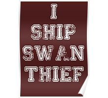 Once Upon a Time - Swan Thief Poster