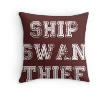 Once Upon a Time - Swan Thief Throw Pillow