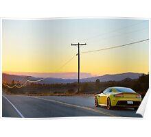 The Stunning Aston Martin V12 Vantage S Poster