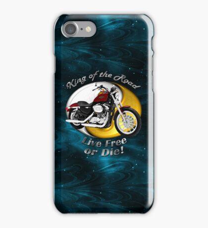 Harley Davidson Sportster King Of The Road iPhone Case/Skin