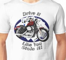 Harley Davidson Sportster Drive It Like You Stole It Unisex T-Shirt