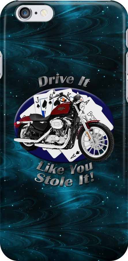 Harley Davidson Sportster Drive It Like You Stole It by hotcarshirts