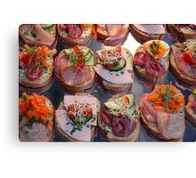 Finger Food IV Canvas Print